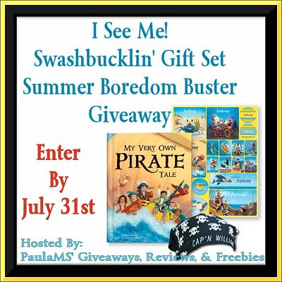 I See Me! Swashbucklin' Gift Set Summer Boredom Buster