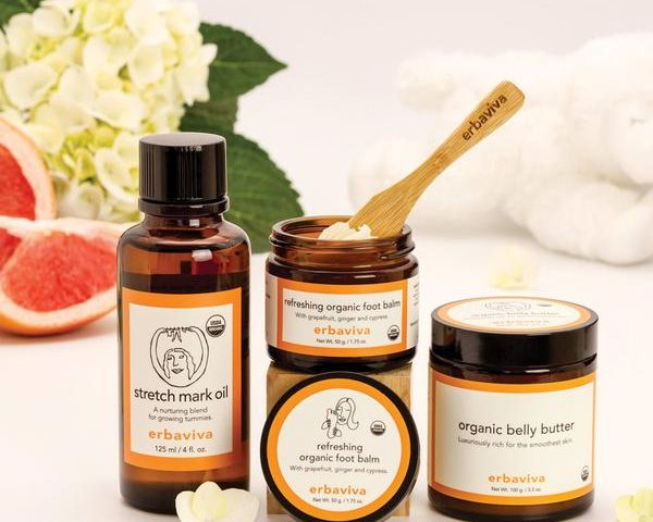 Erbaviva Organic Skincare for the Mom To Be