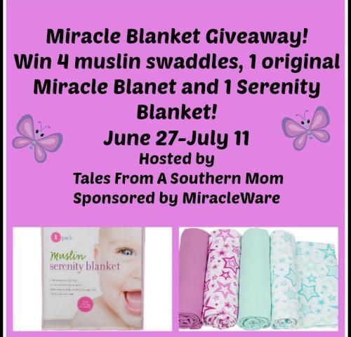 Miracle Blanket Gift Set Giveaway! 7/11