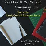 $100 Back To SchoolGiveaway