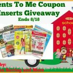 Cents-To-Me-Coupon-Inserts-Giveaway
