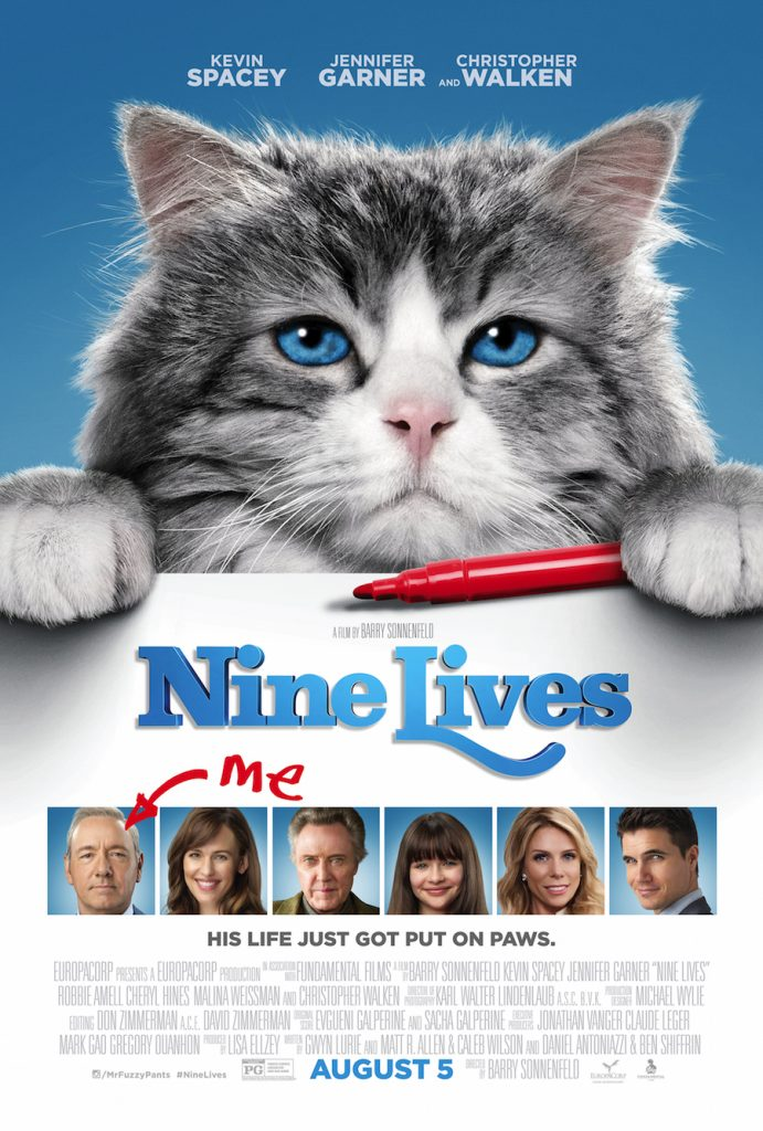 Enter the Nine Lives Giveaway. Ends 8/15