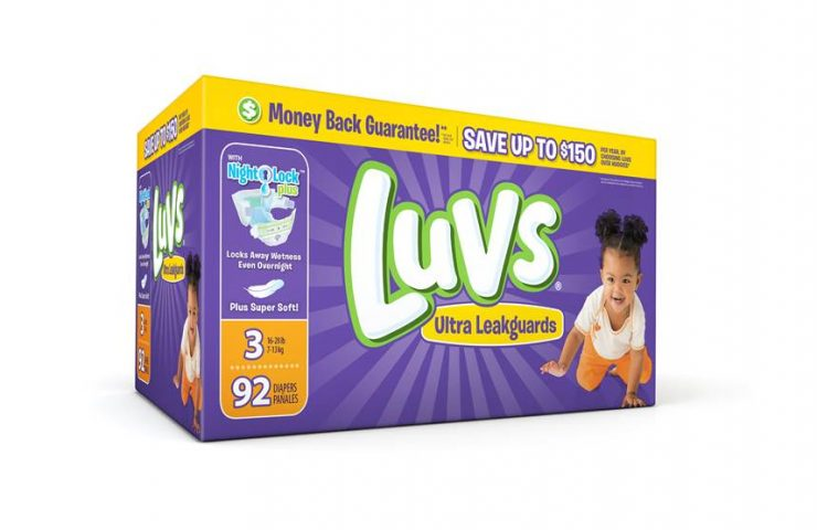 #SharetheLuv Use the Best Diapers and Save Money!