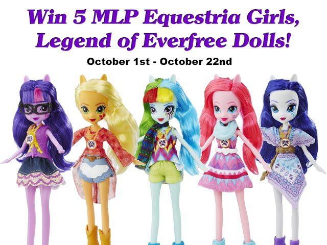 MLP Equestria Girls Everfree Dolls Giveaway
