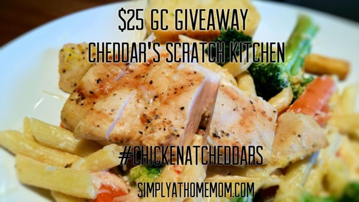 Cheddar's $25 GC Giveaway