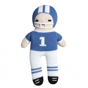Hand Knit  Toys for Football Season!