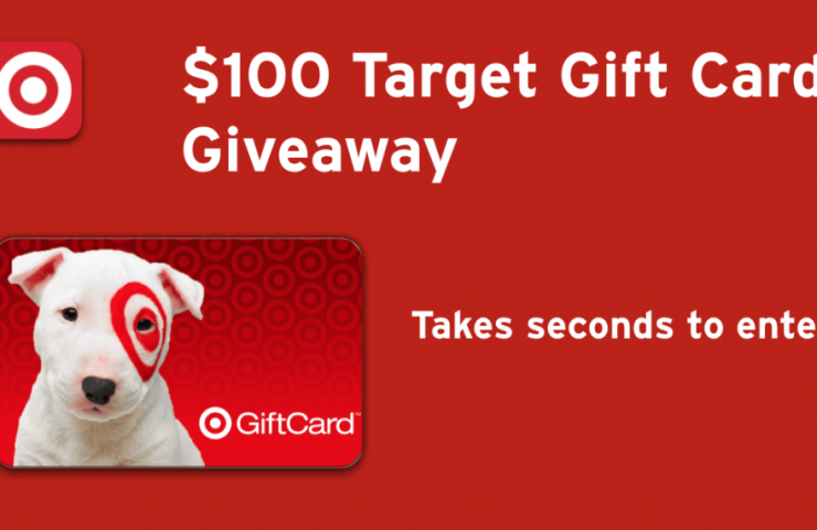Dropprice $100 Target Gift Card Giveaway Ends 12/20