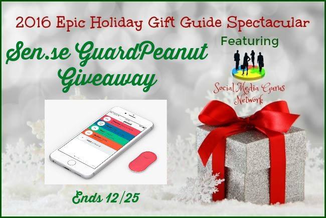 Sen.se GuardPeanut Christmas Giveaway