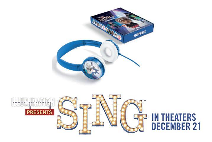 #SingMovie $25 iTunes Card and Set of Headphones Giveaway!