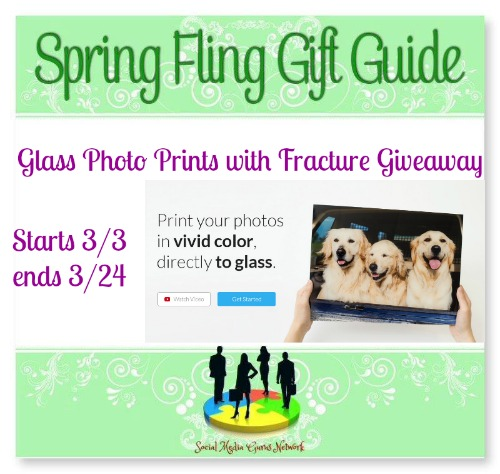 2017 □ Spring Fling Gift Guide Glass Photo Prints with Fracture #Giveaway Ends 3/29 @SMGurusNetwork