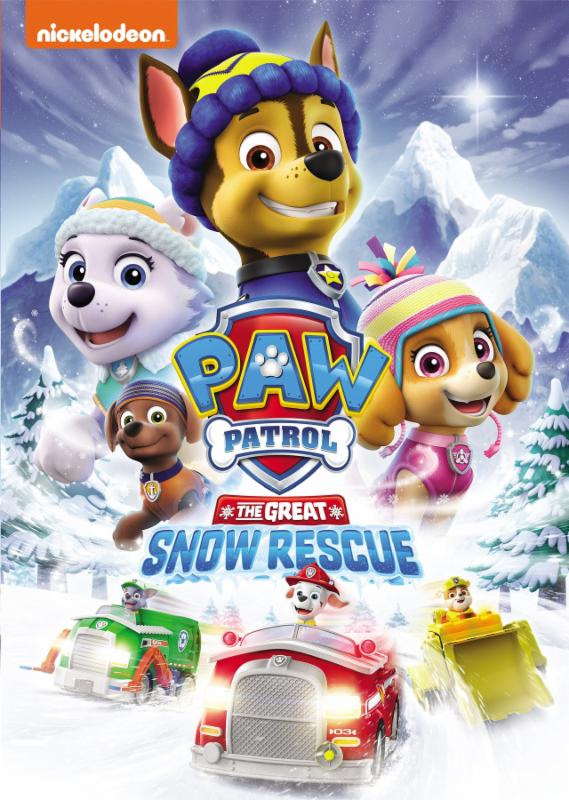 Quot Paw Patrol The Great Snow Rescue Quot Available On Dvd