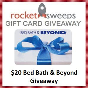 bedbathandbeyond gift card bed bath and beyond gift card giveaway ends 06 16 tales 7065